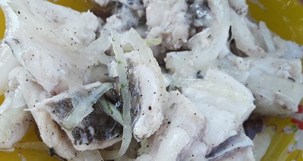Маринованная речная рыба видео рецепт
