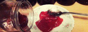 Желе из протертой красной смородины