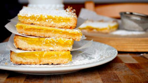 Пирог Лимонник на песочном тесте