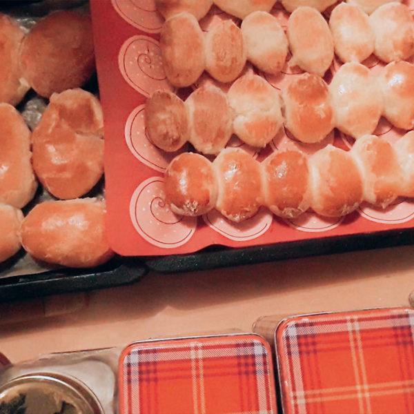 Печёные пирожки с картошкой!